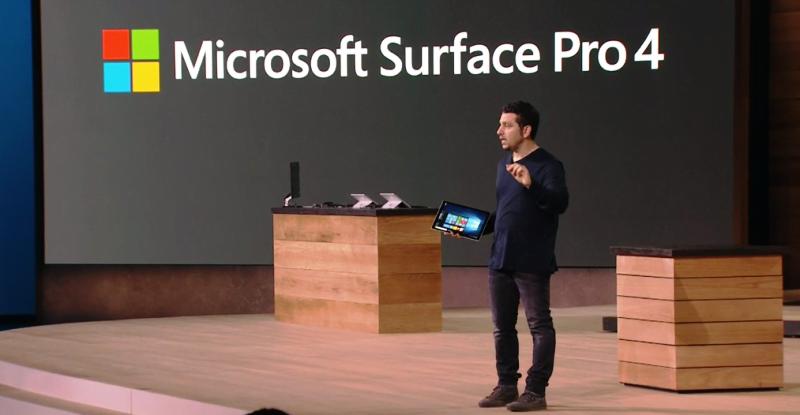 Microsoft a lansat Surface Pro 4