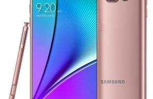 Galaxy Note 5 Pink Gold si Titanium Silver