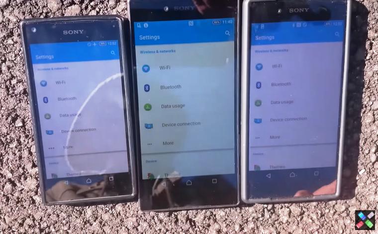 Ecranul primului smartphone cu rezolutie 4K