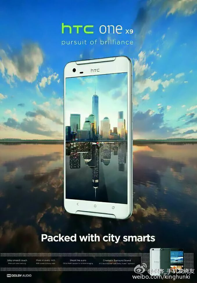 Noi informatii privind HTC One X9
