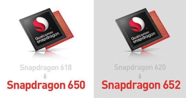 Snapdragon 650 si 652