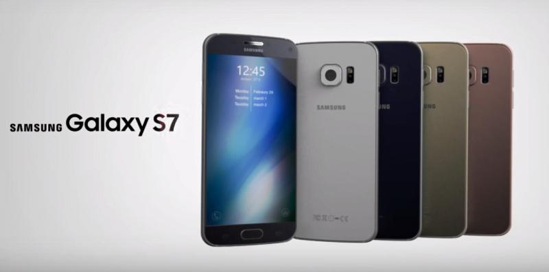 Concept design Samsung Galaxy S7