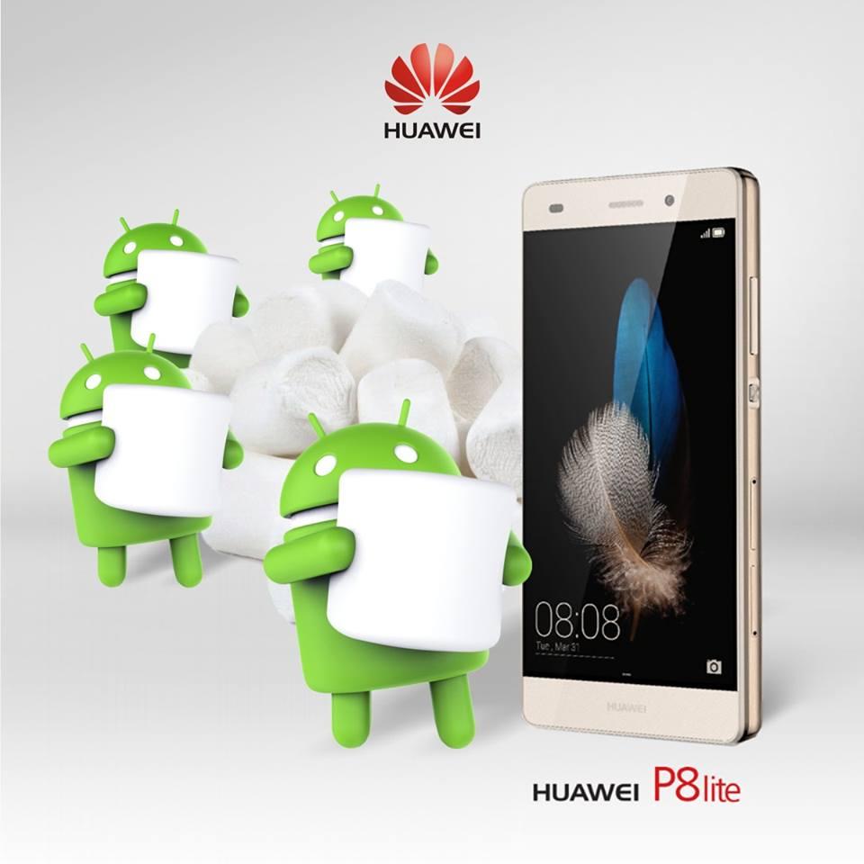 Android 6.0 Marshmallow pentru P8 Lite