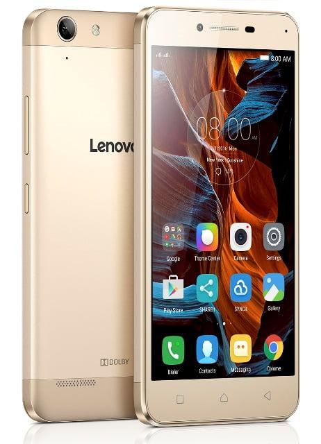 Lenovo anunta telefoanele Vibe K5