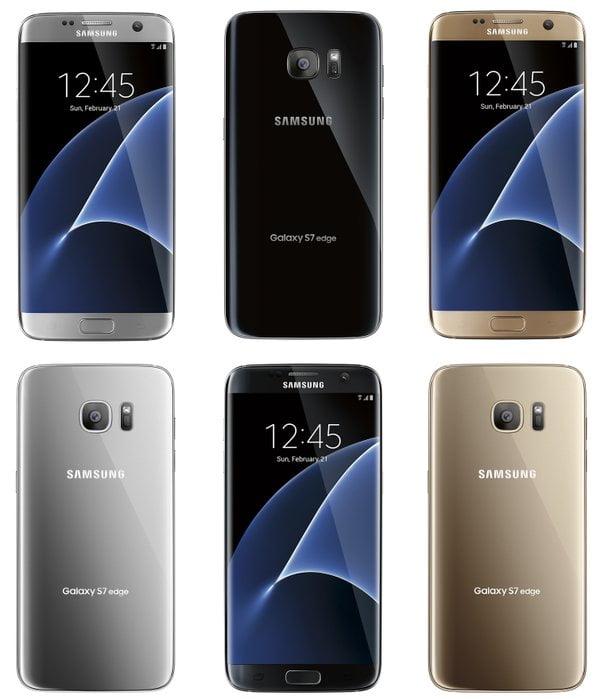 Pretul telefoanelor Galaxy S7 si Galaxy S7 Edge