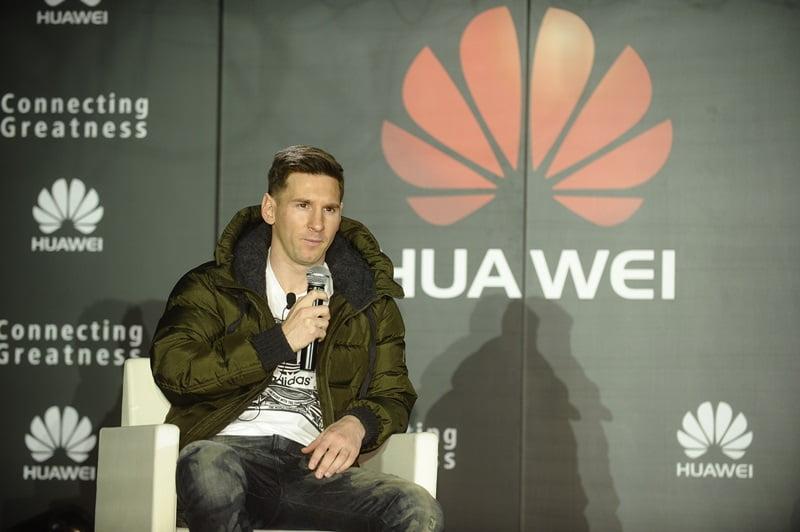 Lionel Messi_Noul Ambasador de Brand Global Huawei_3
