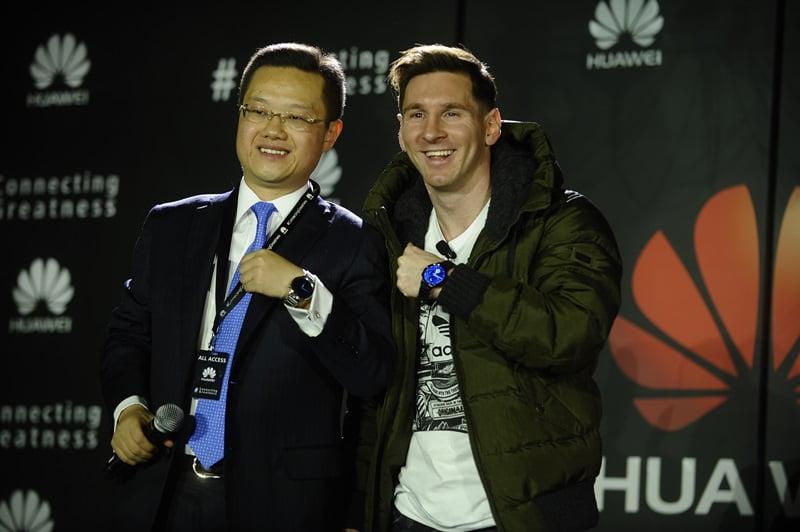 Lionel Messi_Noul Ambasador de Brand Global Huawei_4