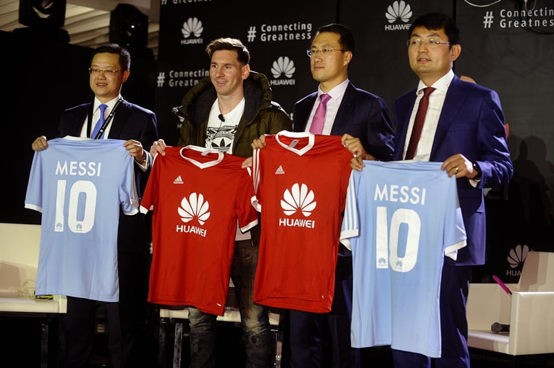 Lionel Messi devine ambasadorul global al brandului Huawei