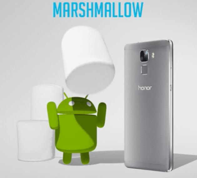 Honor 7 primeste actualizare Marshmallow