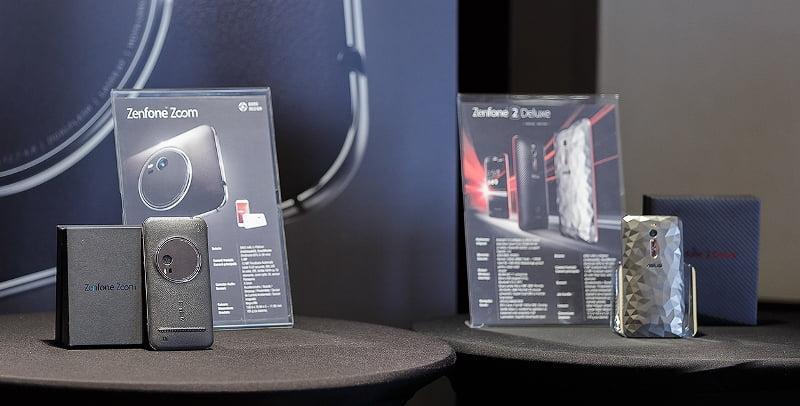 ZenFone Zoom, Max si ZenFone 2 Deluxe Special Edition