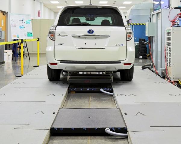 Autovehicule incarcate prin sistem wireless