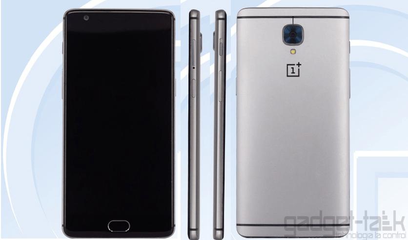 Se confirma designul final al telefonului OnePlus 3