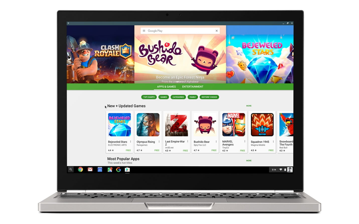 Acum poti instala aplicatii de Android direct pe Chromebook
