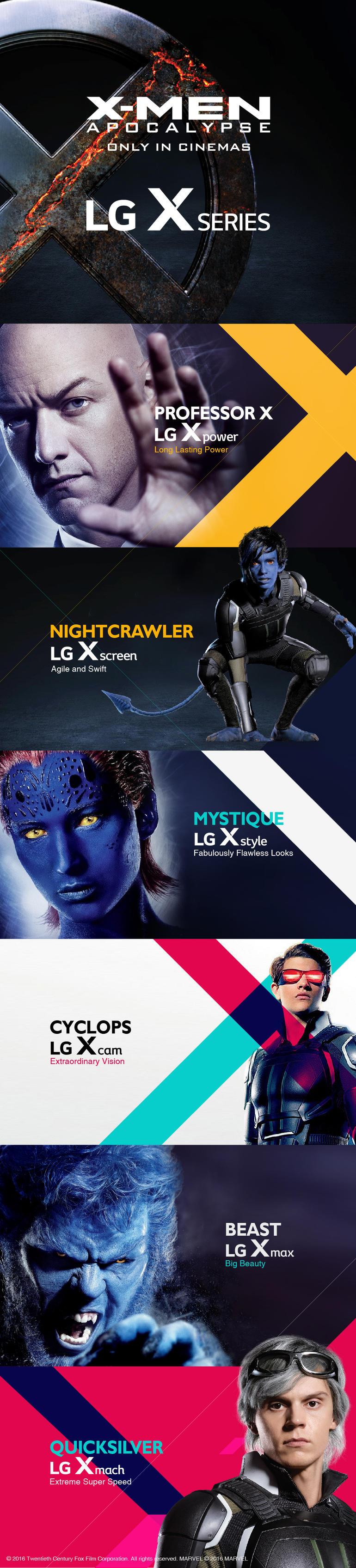telefoane cu tematica X-Men Apocalypse