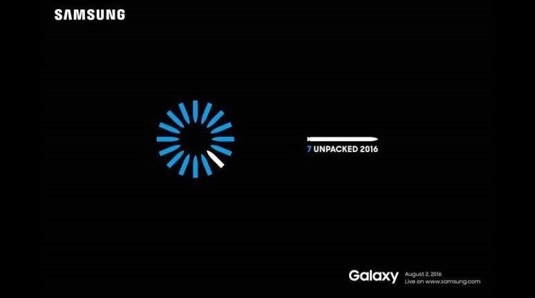 Samsung invita presa la evenimentul Mobile Unpacked