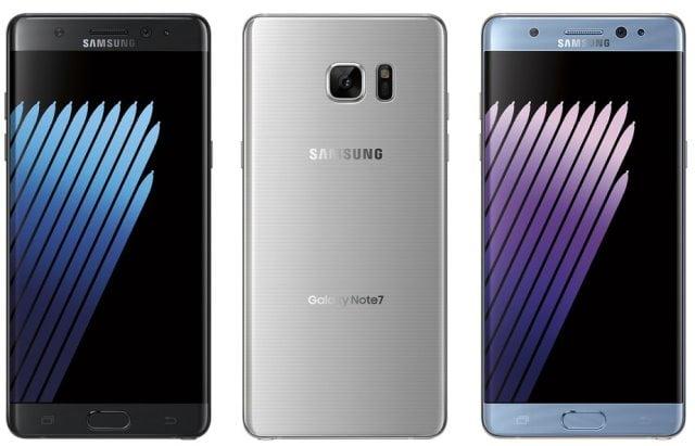 Specificatiile gadgetului Samsung Galaxy Note 7