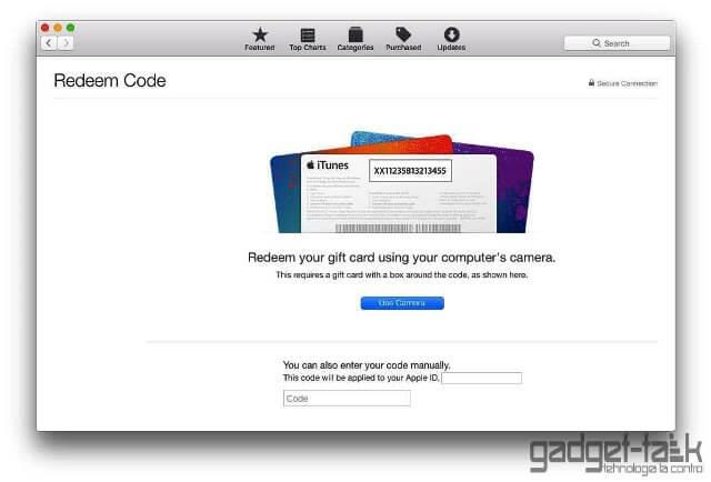 Apple introduce codurile promo