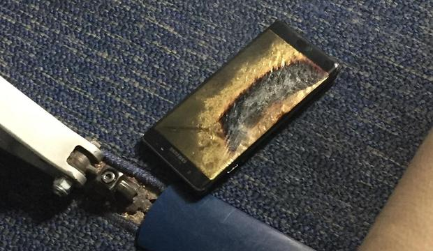 Nici noile Galaxy Note 7 declarate sigure
