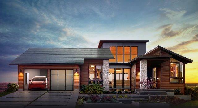 TESLA anunta propriul acoperis solar