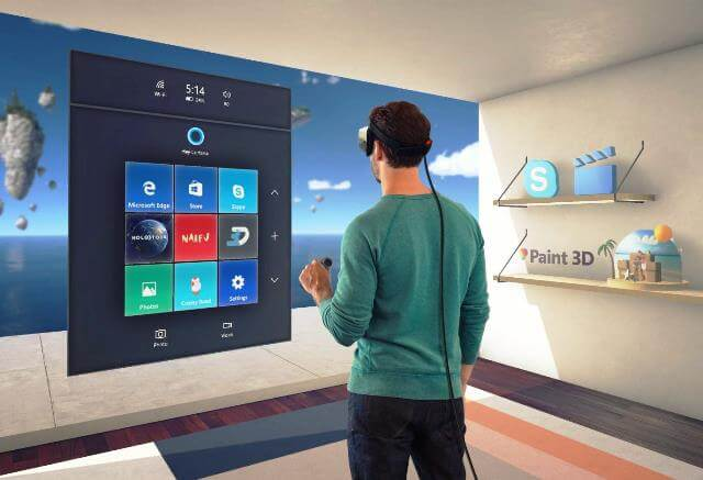 Windows 10 Creators Update aduce integrare Windows Holographic