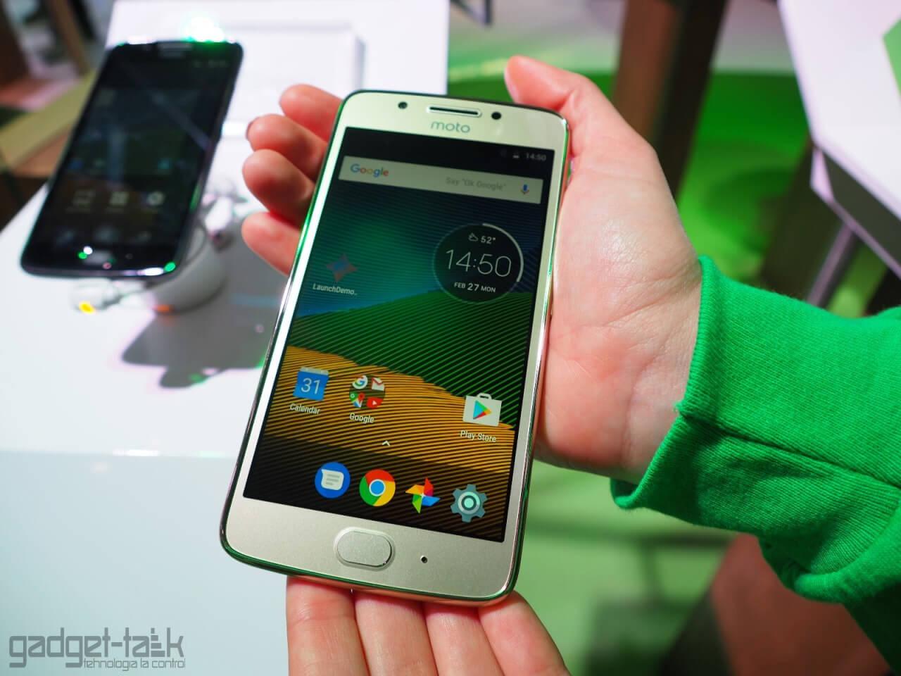 Pretul telefonului Moto G5