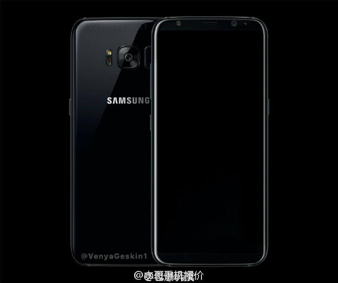 Galaxy S8 Black Pearl