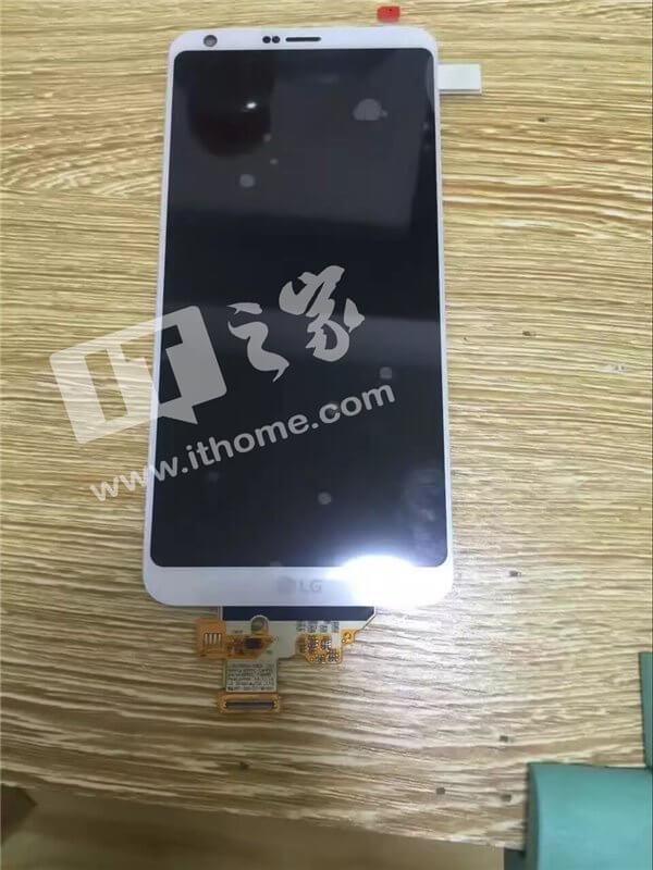 LG G6 cu ecran curbat
