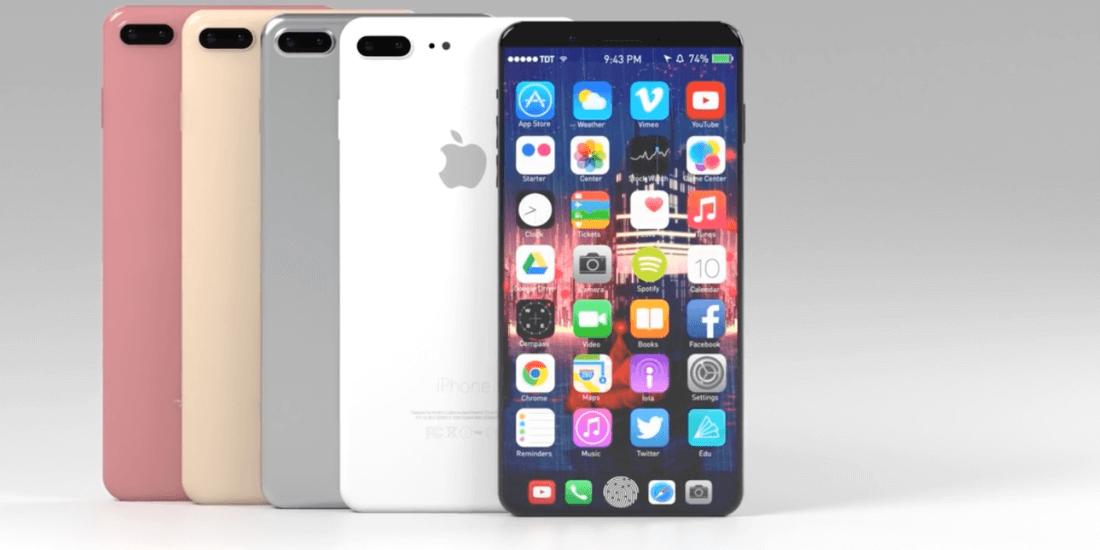 iPhone 8 cu Touch Bar