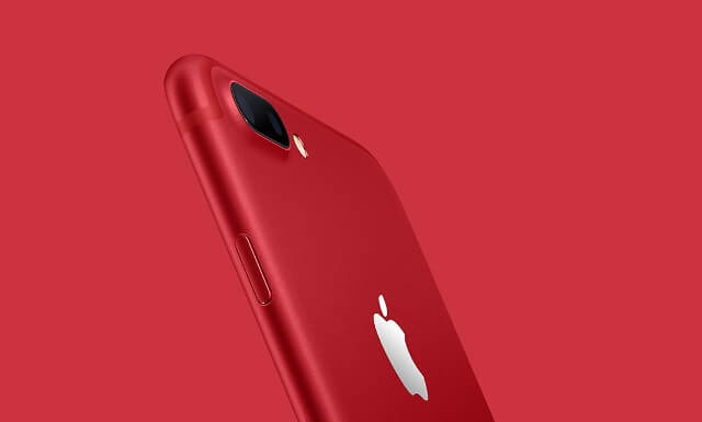 Pretul telefoanelor iPhone 7 Red Special Edition