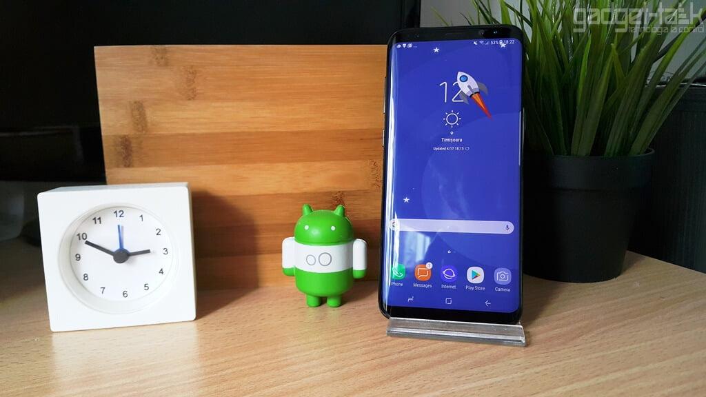 Telefonul Galaxy S8 Plus e greu de reparat