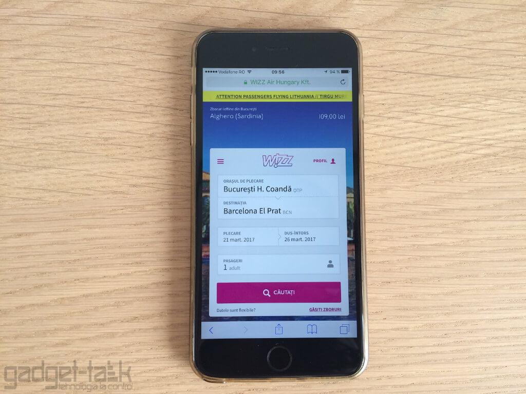 Simplitatea rezervarii biletelor de avion de pe smartphone