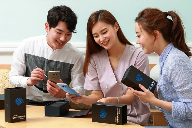 Galaxy Note 7 Fan Edition disponibil in Romania