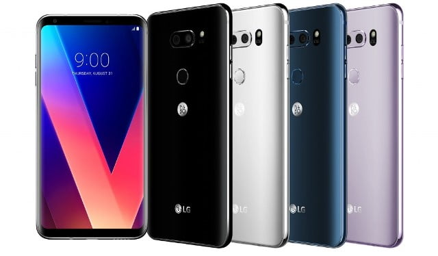 LG Electronics anunta V30