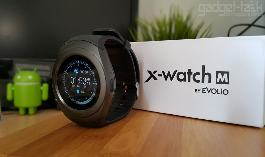 Evolio X-Watch M Review