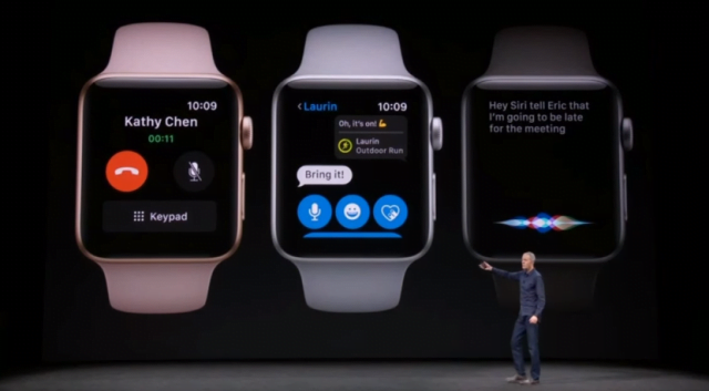 Apple anunta Watch 3 Celular