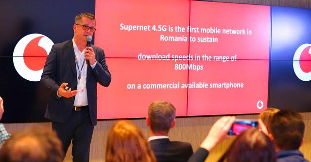 Vodafone lanseaza Supernet 4.5G