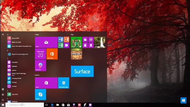 Windows 10 Fall Creators Update introduce designul fluent