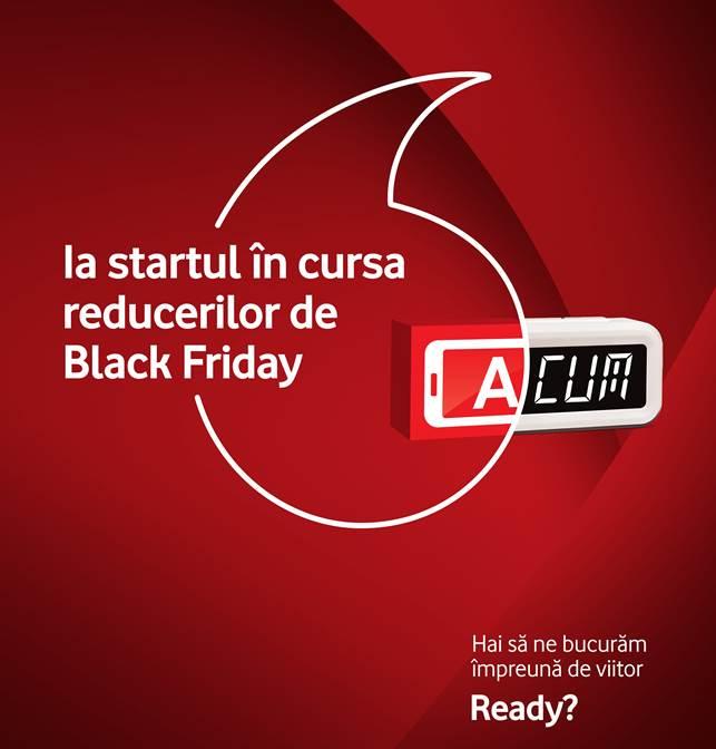 Vodafone anunta oferta de Black Friday