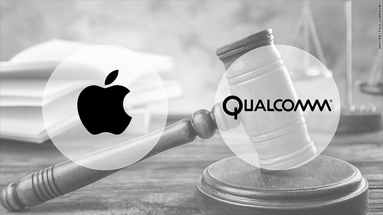 Qualcomm acuza Apple