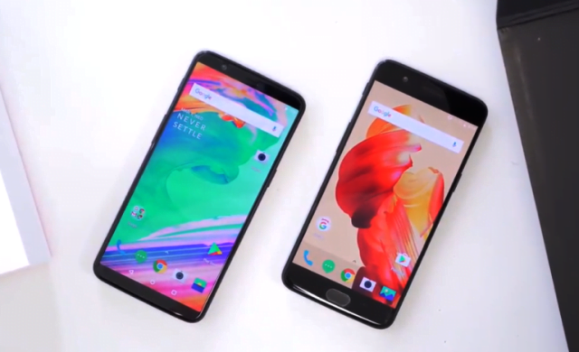 Despachetarea telefonului OnePlus 5T