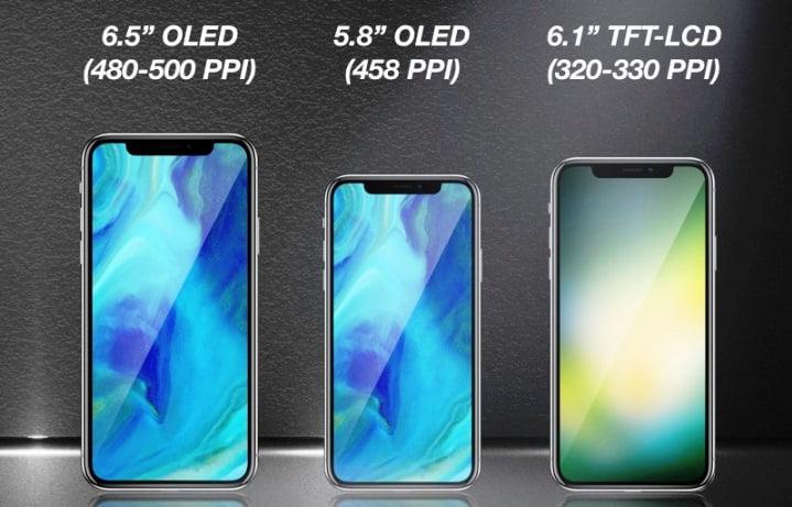 iPhone X, ar putea fi lansat in 3 variante din 2018