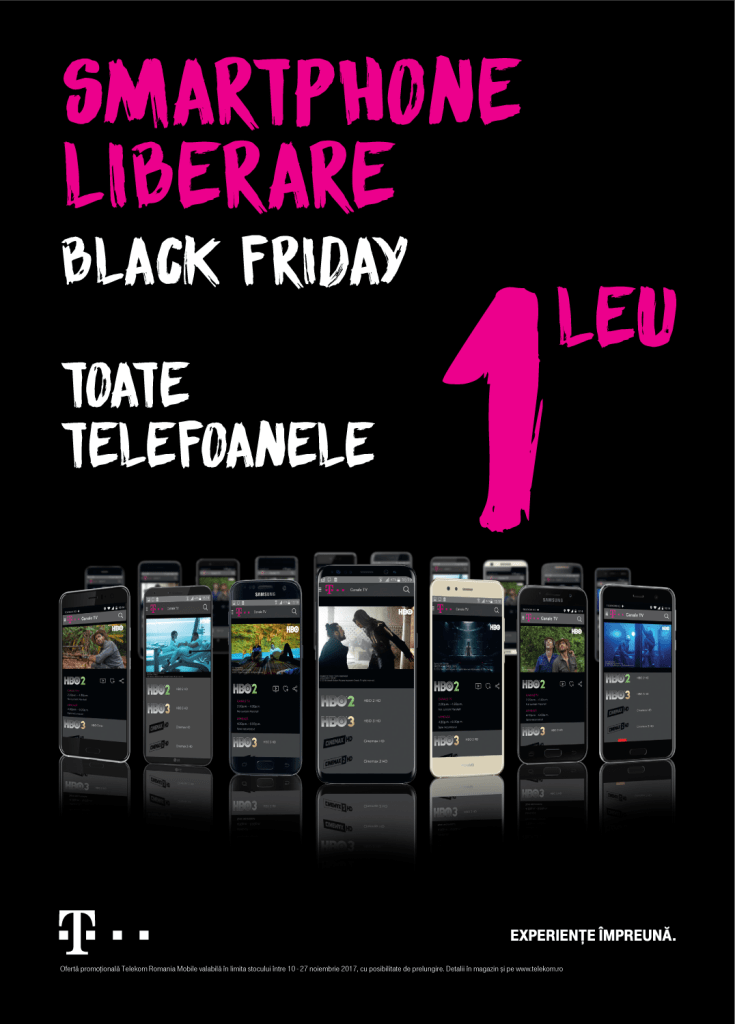 Telekom Romania anunta oferta Black Friday