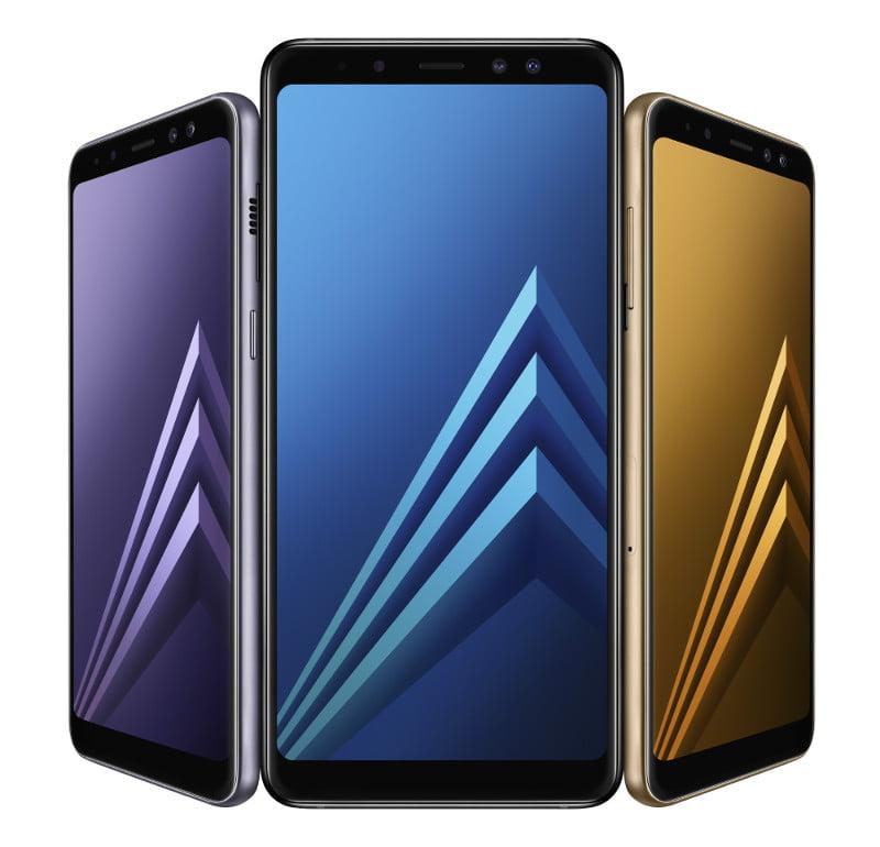 Samsung anunta telefoanele Galaxy A8 2018