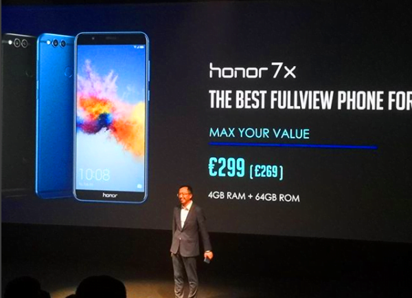 Pretul telefonului Huawei Honor 7X