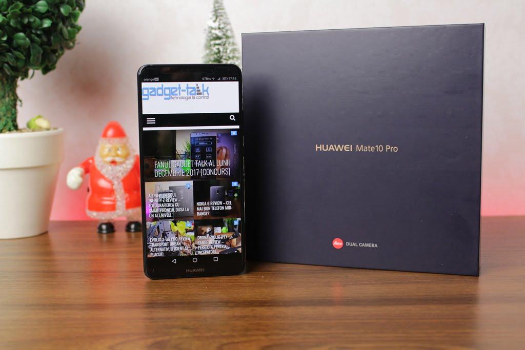 Recenzia telefonului Huawei Mate 10 Pro