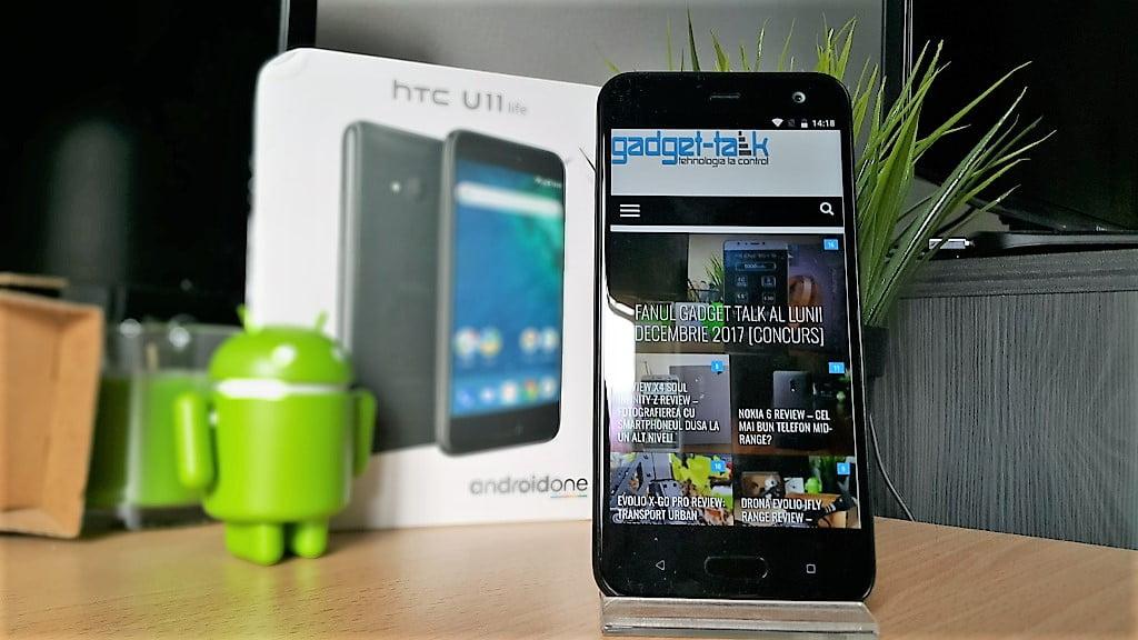 Recenzia telefonului HTC U11 Life