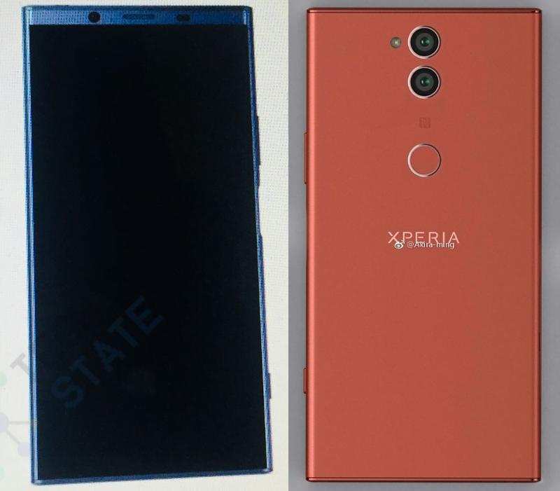gama Sony Xperia 2018