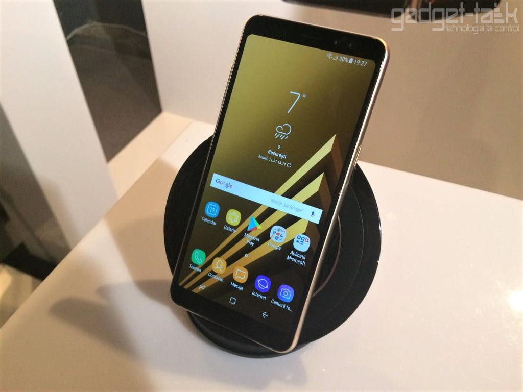 Telefonul Galaxy A8 2018