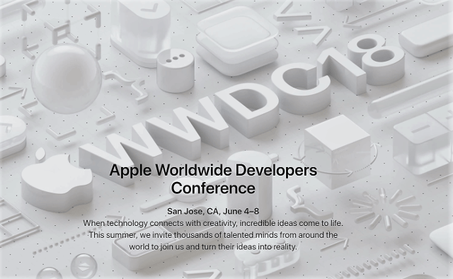 Apple anunta World Wide Developers Conference 2018