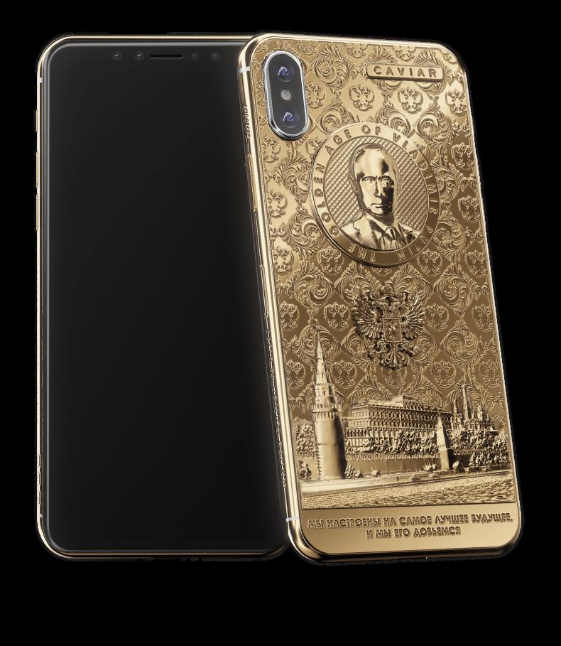 Rusii lanseaza iPhone X Putin Golden Age